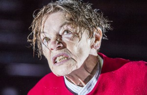 Glenda Jackson in King Lear at the Old Vic. Photo: Tristram Kenton