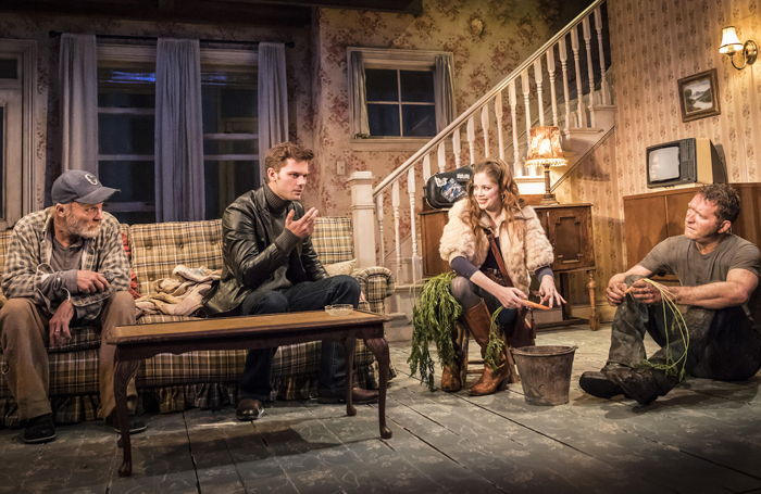 an analysis of buried child I remember being told that it's best to leave family secrets secret but i've also heard many times: the truth will out, and this is what the characters of sam shepard's haunting buried child ultimately learn.