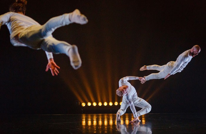 James Wilton Dance's Leviathan at the Place, London. Photo: Steve Tanner