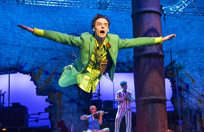 peter pan review at national theatre london