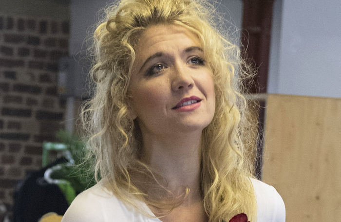 Scarlett Strallen in rehearsals for She Loves Me. Photo: Alastair Muir