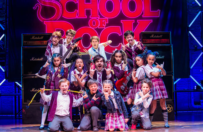 Image result for school of rock the musical the stage