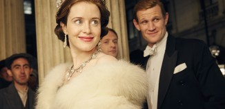 Claire Foy and Matt Smith in The Crown. Photo: Robert Viglasky/Netflix