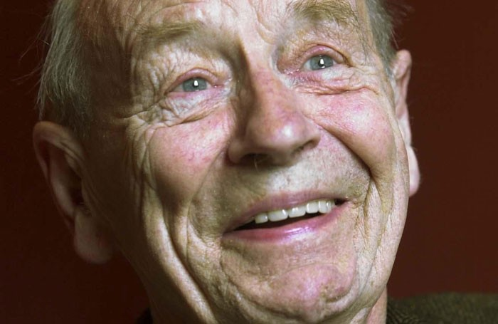 William Trevor. Photo: Irish Times