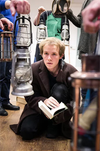 Tom Chapman in rehearsals for Great Expectations. Photo: Jack Ladenburg