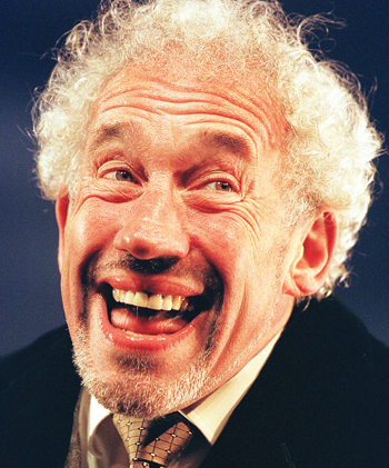Simon Callow in The Mystery of Charles Dickens at the Comedy Theatre in 2000. Photo: Tristram Kenton