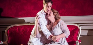 Alice Coote and Renee Fleming in Der Rosenkavalier at the Royal Opera House, London. Photo: Tristram Kenton