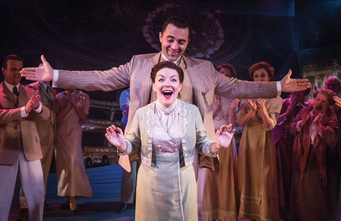 Darius Campbell and Sheridan Smith in Funny Girl. Photo: Marc Brenner