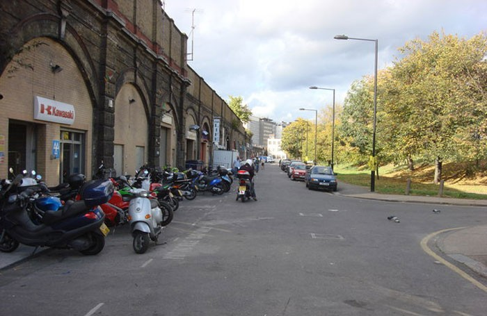 Railway arches in Goding Street, Vauxhall where Above the Stag will be moving into in 2017. Photo: geograph.org.uk
