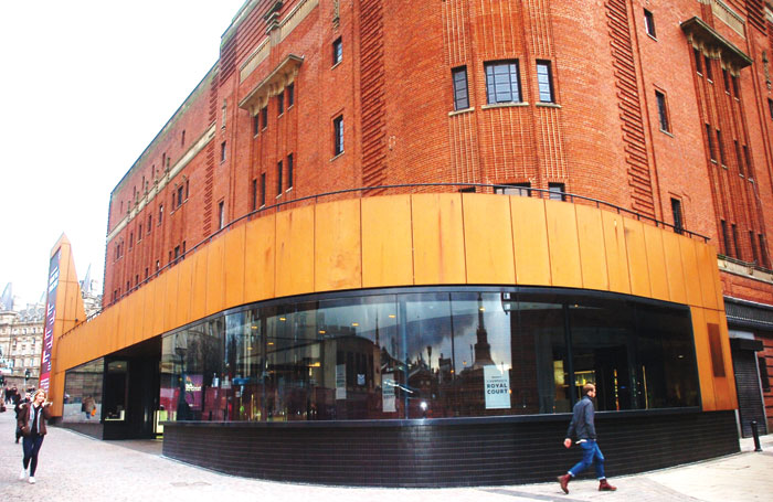 The new foyer at the Royal Court, Liverpool