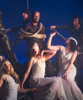 Mark Bruce Company's The Odyssey. Photo: Tristram Kenton