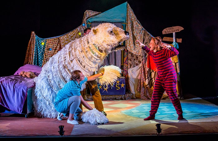 Pins and Needles' The Bear at Birmingham Mac. Photo: Paul Blakemore