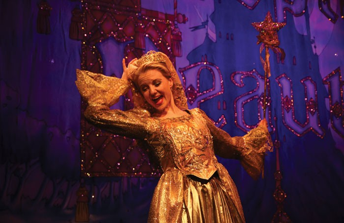 Annabel York in Sleeping Beauty at Kenton Theatre, Henley-on-Thames. Photo: Philip Raymond
