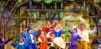 Snow White and the Seven Dwarfs at the Empire Theatre, Liverpool. Photo: Mark McNulty