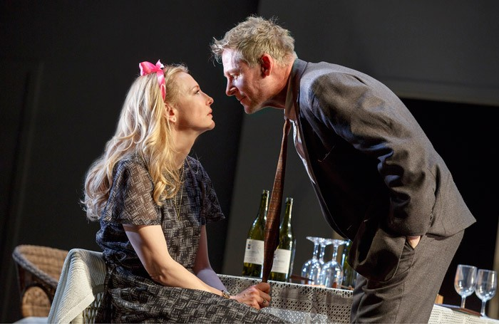 Cate Blanchett and Richard Roxburgh in The Present on Broadway. Photo: Joan Marcus