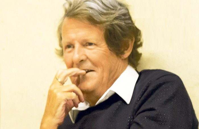 Playwright David Hare. Photo: Johan Persson