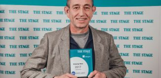 Stage door manager Ned Seago won Unsung Hero at The Stage Awards 2017. Photo: David Monteith-Hodge