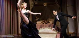 Summer Strallen with Tom Chambers in TopHat at the Aldwych Theatre in2012. Photo: Tristram Kenton