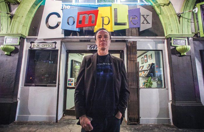 Director Andy McQuade at The Complex Theatres in Los Angeles