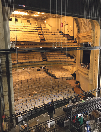 New Yorks Abandoned Hudson Theatre Revived By Atg
