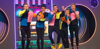 Five to Five perform on BBC1's Let It Shine. Photo: BBC
