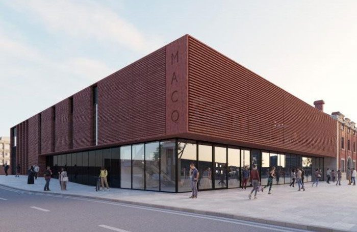 Artist's impression of the new 450-seat venue in Sunderland, part of the city's new Music, Arts and Cultural Quarter development