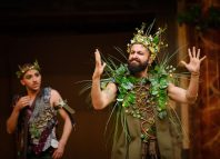 Deafinitely's production of A Midsummer Night's Dream at Shakespeare's Globe in 2015. Photo: Simon Kane