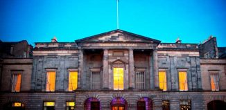 Assembly Rooms in Edinburgh