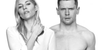 Sienna Miller and Jack O'Connell. Photo: Charlie Gray