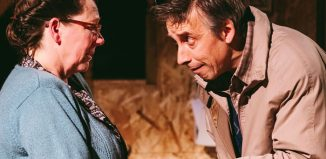 Llion Williams (right) in Belonging/Perthyn. Photo: Wales Theatre Awards