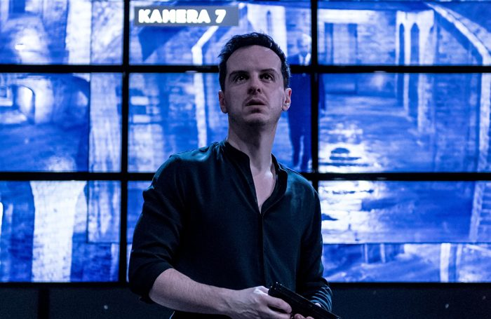 Andrew Scott in Hamlet at the Almeida. Photo: Manuel Harlan