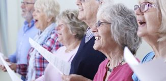 Members of a senior choir. Photo: SpeedKingz/Shutterstock