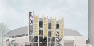 Architect's impression of the renovated West Yorkshire Playhouse. Photo: Page Park