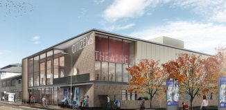 Artist's impression of the redeveloped Citizens Theatre. Photo: Bennetts Associates