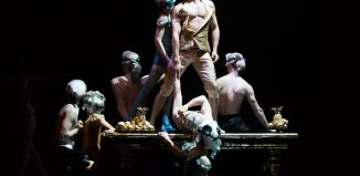 Javier Torres and Northern Ballet dancers in Casanova at Leeds Grand Theatre. Photo: Emma Kauldhar[