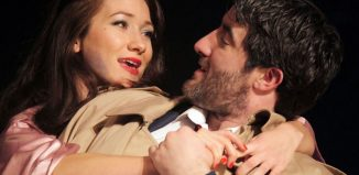 Sarah Ovens and Philip Cairns in Some Kind of Love Story