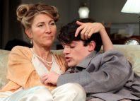 Eve Best and Edward Bluemel in Love in Idleness