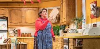 Jodie Prenger in Shirley Valentine. Photo: Manuel Harlan