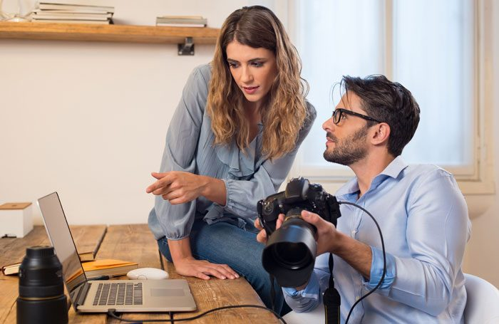 Headshot sessions usually cost between £250 and £450. Photo: Rido/Shutterstock