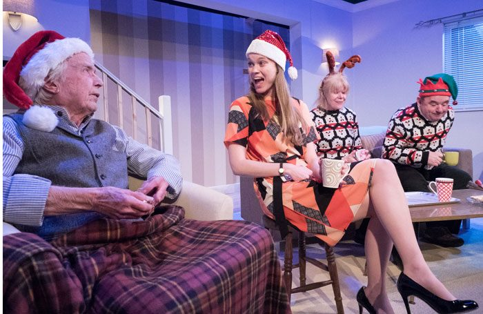 Dog Ends at Tabard Theatre. Photo: Alistair Hilton