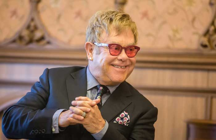 Elton John. Photo: Drop of Light/Shutterstock