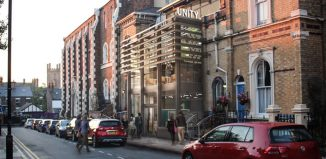 Architect's impression of the redeveloped Unity Theatre in Liverpool. Photo: K2 Architects