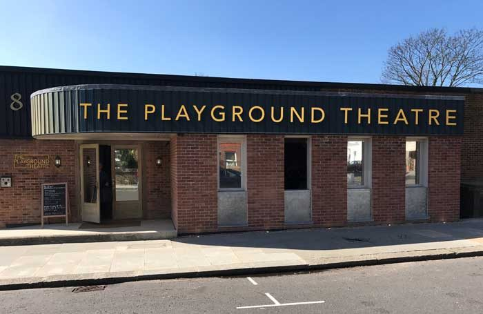The Playground Theatre will open in October
