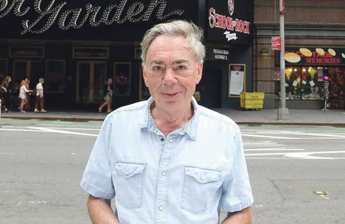 Andrew Lloyd Webber. Photo: Bruce Glikas