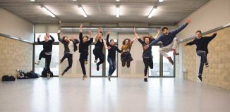 Students on a summer course at LAMDA