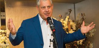 Cameron Mackintosh at the launch of Music Theatre International (Europe) in London. Photo: Dan Wooller