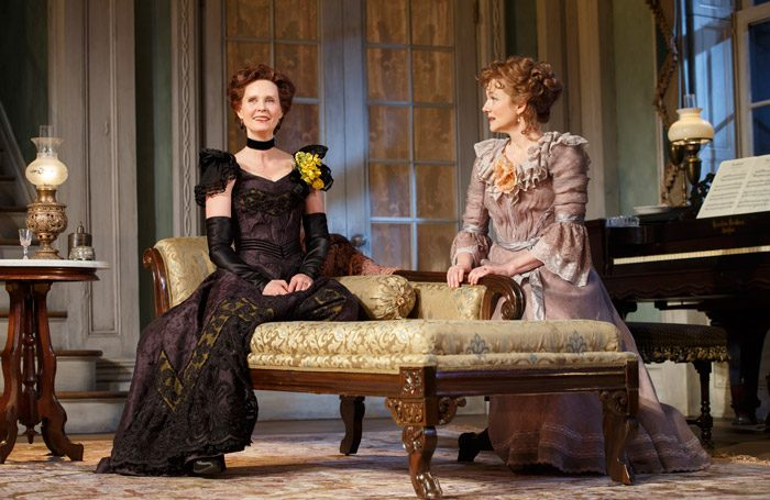 Cynthia Nixon and Laura Linney in The Little Foxes in New York. Photo: Joan Marcus