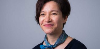 Kumiko Mendl, artistic director of Yellow Earth Theatre. Photo: Suki Mok