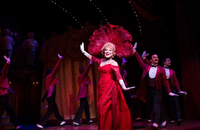 Bette Midler in Hello, Dolly! on Broadway. Photo: Julieta Cervantes