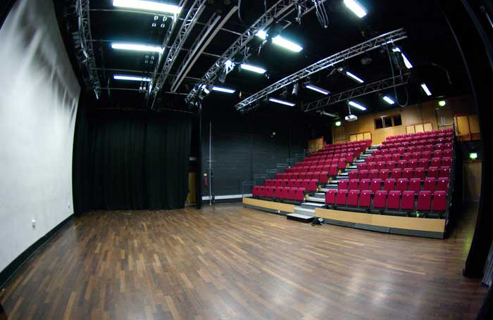 The interior of the Mill Arts Centre, Banbury